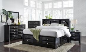 Global Furniture USA LINDABLKBSET
