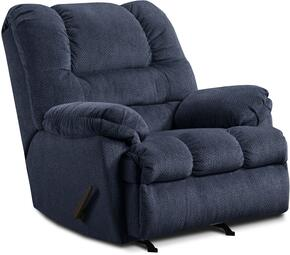 Simmons Upholstery U60019ZIGZAGBLUE