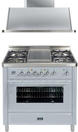 2-Piece Stainless Steel Kitchen Package with UMT90FDVGGI 36