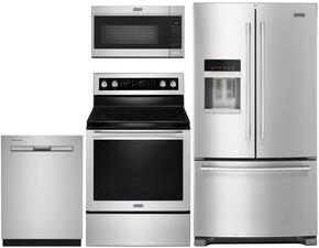 4-Piece Stainless Steel Kitchen Package with MFI2570FEZ 36