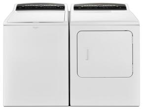 "Cabrio White Top Load Laundry Pair with WTW7000DW 27.5"" Washer and WED7000DW 29"" Electric Dryer"