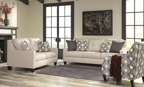 Guillerno 71801SLAC 3-Piece Living Room Set with Sofa, Loveseat and Accent Chair in Alabaster Color