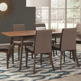 "Redbridge 106591 35.5"" Dining Table and 4 Dining Chairs"