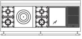 180 US N8 Cooktop Configuration w...