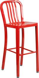 Flash Furniture CH6120030REDGG