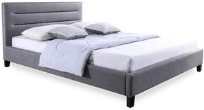 Wholesale Interiors BBT6452GREYQUEENBED