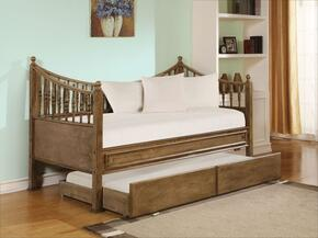 Joshua 12090SET 2 PC Bedroom Set with Daybed + Trundle in Oak Finish