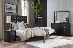 Global Furniture USA CAROLINABLKBSET