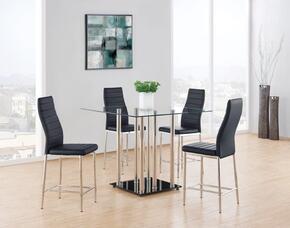 Global Furniture USA D368BT4D368BS