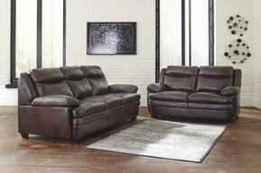 Hannalore Collection 1530438SL 2 PC Living Room Set with Sofa + Loveseat in Cafe Color