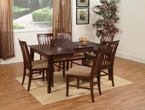 Atlantic Furniture SHAKER4260BTDTAW