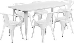 Flash Furniture ETCT005670WHGG