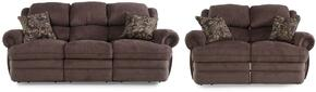 Hancock Collection 203142614124113SL 2-Piece Living Room Set with Sofa and Loveseat in Viper Mink