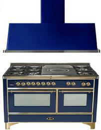 2-Piece Midnight Blue Kitchen Package with UM150SDMPBL 60
