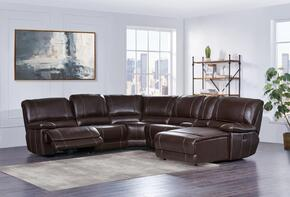 Global Furniture USA U1953SECLSFRRSFCHSP
