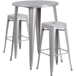 Flash Furniture CH51090BH230SQSTSILGG