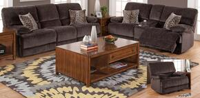2059330SHASLG Idaho 3 Piece Manual Recline Living Room Set with Sofa, Loveseat and Glider Recliner, in Rumor Shadow