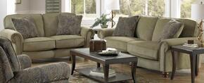 Downing Collection 43842PCSTLKIT1F 2-Piece Living Room Sets with Stationary Sofa, and Loveseat in Fern