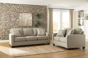 Alenya Collection 16600SL 2-Piece Living Room Set with Sofa and Loveseat in Quartz