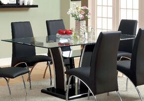 Furniture of America CM8372BKTTABLE