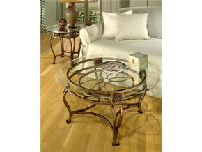 40386OTC2PC Scottsdale 2 PC Living Room Table Sets with Cocktail Table + End Table in Brown Rust Finish