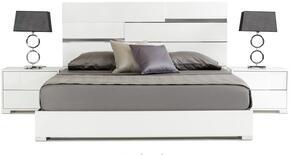 VIG Furniture VGACANCONABEDWHTCK
