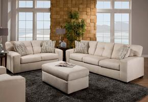 1851039336VLRRSLO Rockland Sofa + Loveseat + Ottoman with 16 Gauge Border Wire, Hi-Density Foam Cores, Sinuous Springs, Toss Pillows and Solid Kiln Dried Hardwoods in Victory Lane River Rock