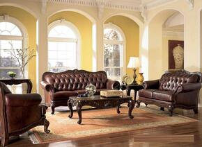 Victoria Classic 500681SLC 3 PC Living Room Set with Sofa + Loveseat + Chair in Tri-Tone Color