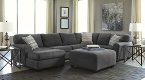 Sorenton 28600SSOL 2-Piece Living Room Set with Left Chaise Sectional Sofa and Ottoman in Slate