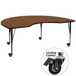 Flash Furniture XUA4896KIDNYOAKHPCASGG