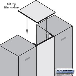 Salsbury Industries 33341BLU