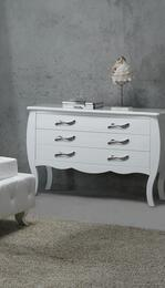 VIG Furniture VGKCMONTEWHTDR
