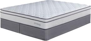 Lilium Plush Collection MF-121/210-K Mattress and 2 Foundations Set in King Size