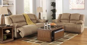 Hogan 57802KIT2PC 2-Piece Living Room Set with Sofa and Loveseat in Mocha