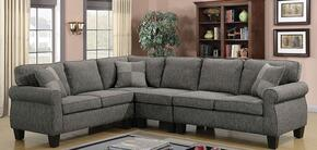 Furniture of America CM6329GYSECT