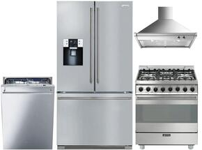 4-Piece Stainless Steel Kitchen Package with FTU171X7 36