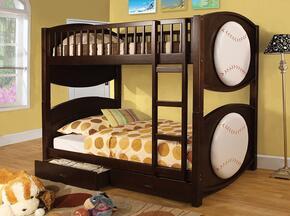 Furniture of America CMBK065BSBLTBED