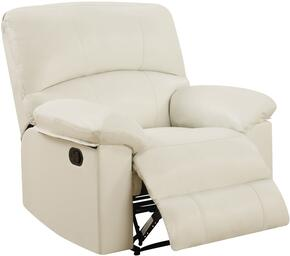 Global Furniture U99270WHITERECLINER