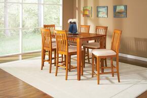 Atlantic Furniture SHAKER4260BTPTAW
