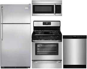 4-Piece Stainless Steel Kitchen Package with FFTR1821QS 30