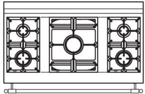 120 US E1 Cooktop Configuration w...