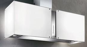 """FMMIA26W0GL 26"""" Maia glass accessory for FMSQU26W5SS square wall body"""
