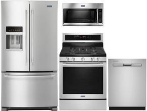 4 Piece Kitchen Package With MGR8800FZ 30