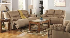 Hogan 57802KIT3PC 3-Piece Living Room Set with Sofa, Loveseat and Recliner in Mocha