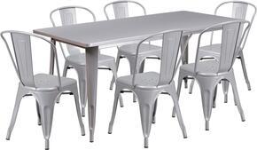 Flash Furniture ETCT005630SILGG