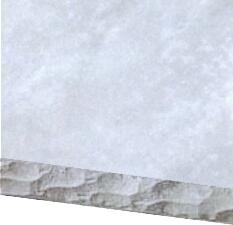 Distressed Gray Chisel Edge Countertop Option for 8 ft. Grill Island