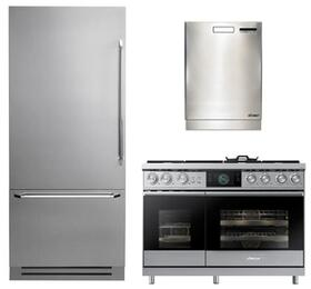 3-Piece Stainless Steel Kitchen Package with DYF36BFBSL 36