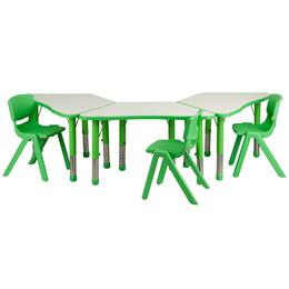 Flash Furniture YUYCY0910033TRAPTBLGREENGG