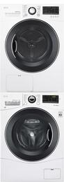 White Laundry Pair with WM1388HW 24
