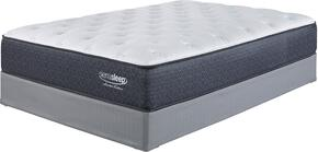 Marcella Plush Collection MF-110/210-T Mattress and Foundation Set in Twin Size